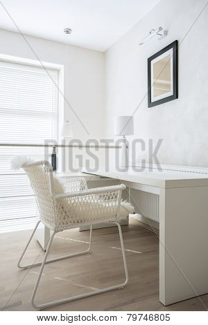 Desk With Chair In The Entresol