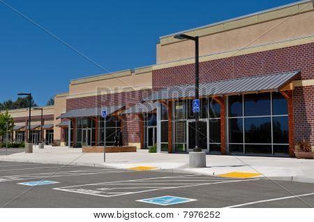 New Strip Mall Shopping Center