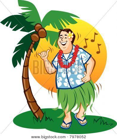 Tourist Hula Dance