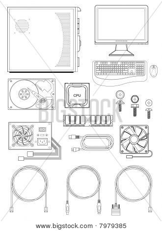 Computer parts and accessories
