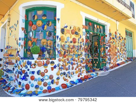 Margarites - traditional creten village