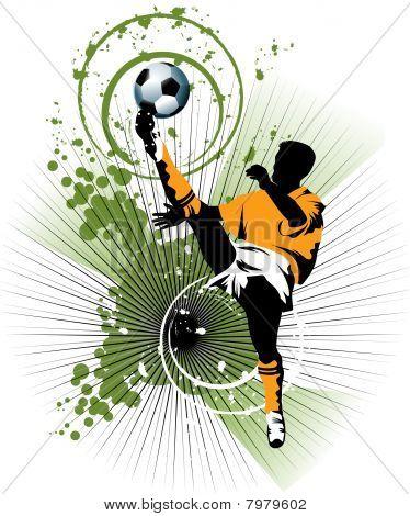 Soccer In Orange
