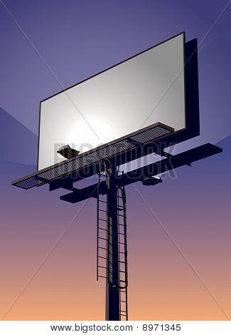 Billboard At Sunset