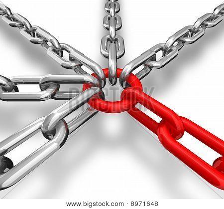 Chain Group Teamwork