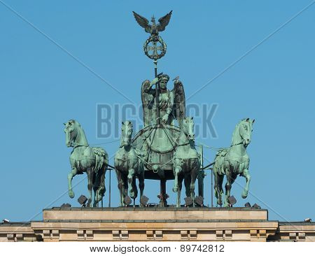 Quadriga On The Brandenburg Gate