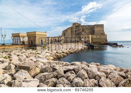 Castel Dell'ovo In Naples, Italy