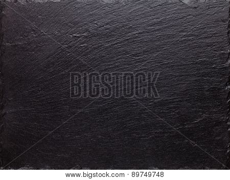 Black slate stone texture background