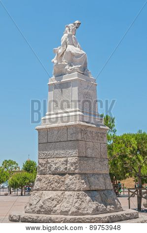 Monument For The Capetonians In The Anglo-boer War
