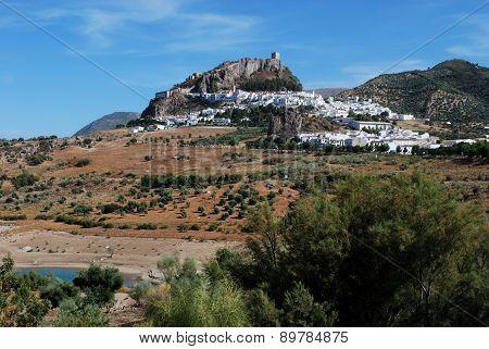 White town, Zahara de la Sierra.