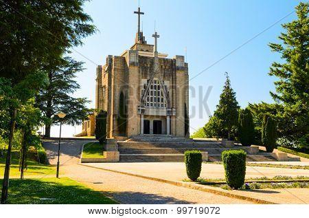 Monte de Santa Catarina or Montanha da Penha church, Guimaraes, Portugal
