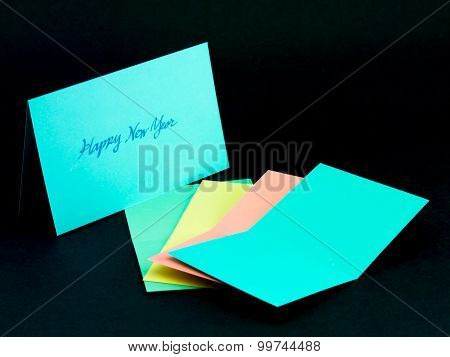 Message Card For Your Family And Friends; Happy Hew Year