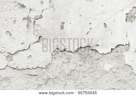 Cracked Concrete Wall Concrete Wall