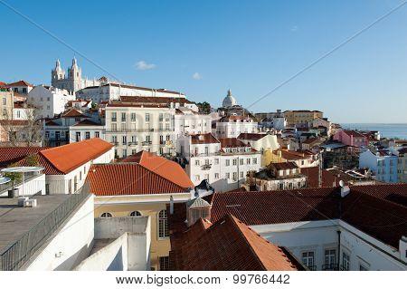 Lisbon Cityview. Portugal