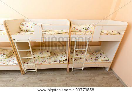 New Kindergarten Bedroom With Small Beds