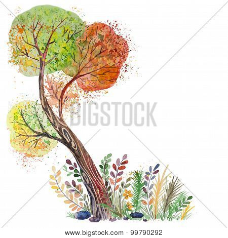 Big Autumn Tree
