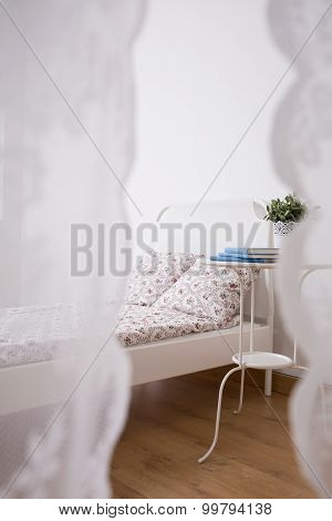 Neat Furnished Sleeping Area