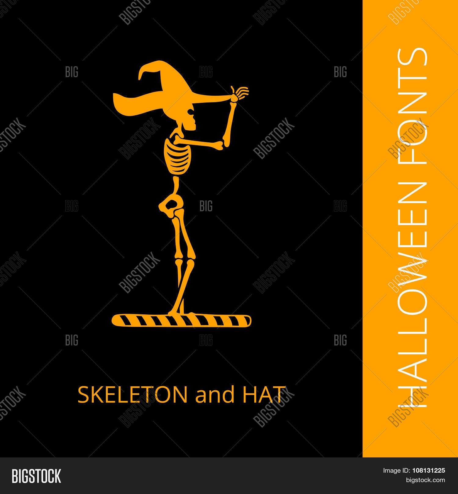 Halloween Alphabet Vector & Photo (Free Trial) | Bigstock