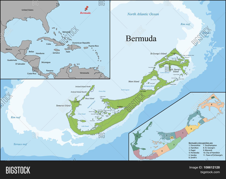 Bermuda British Overseas Territory Vector Photo Bigstock