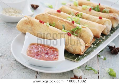 Chinese spring rolls