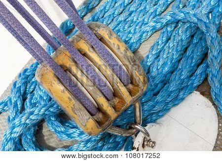 Marine Ropes And Ship Tackle