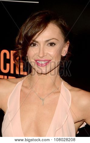 LOS ANGELES - NOV 11:  Karina Smirnoff at the
