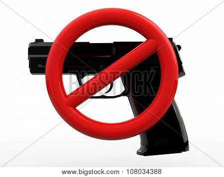 3d gun control concept