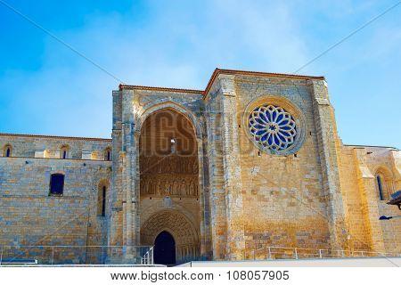 Villalcazar de Sirga church Santa Maria la Blanca Way of Saint James in Palencia