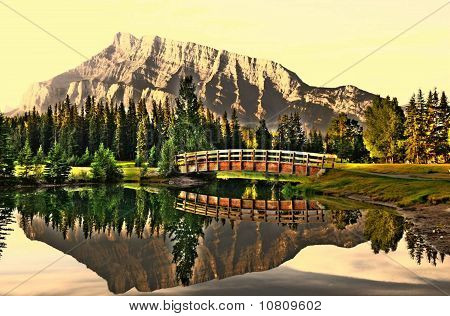 Mount Rundle Reflection