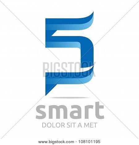 Logo Lettering S Number