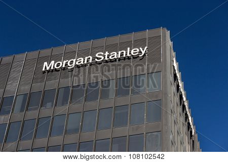 Morgan Stanley Building And Logo