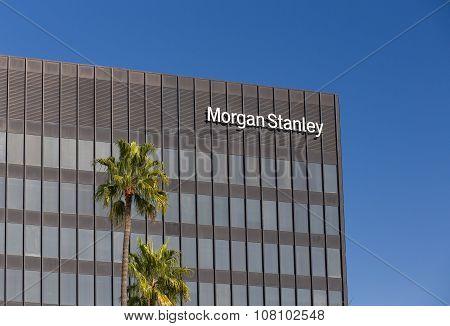 Morgan Stanley Building And Logo
