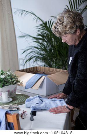 Widow Longing For Dead Husband