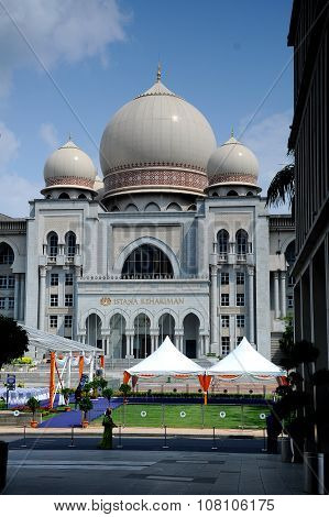 Palace of Justice in Putrajaya, Malaysia