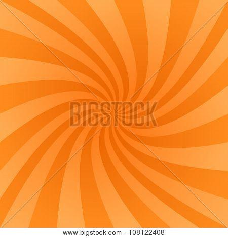 Orange swirl design background