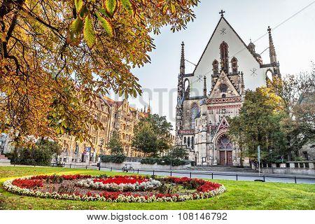 St. Thomas Church In Leipzig