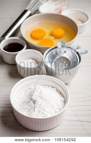 Ingredients For Baking Cake