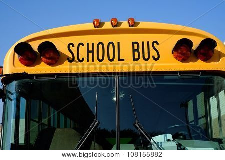 School Bus, Front View