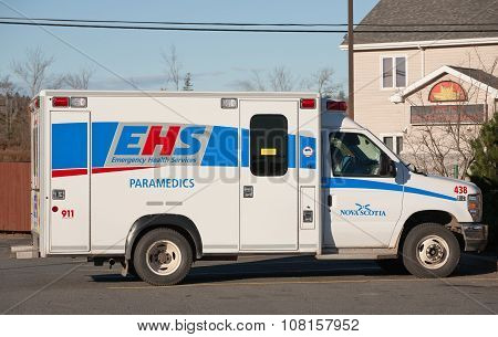 Emergency Health Services Ambulance