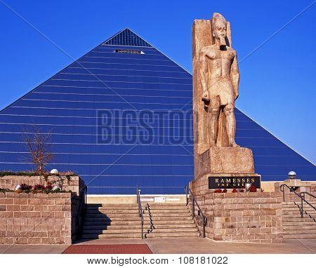 Memphis Pyramid Arena.