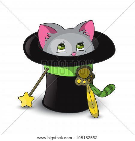 Magic Cat in the Hat