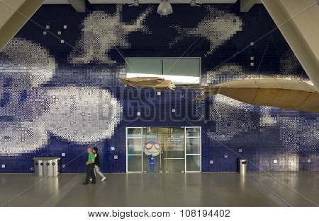 Lisbon Aquarium Facade