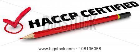 HACCP CERTIFIED. The Mark