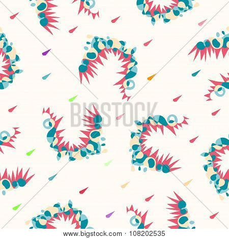 Abstract Seamless Color Pattern Vector Background