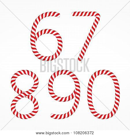 Candy Canes Numbers