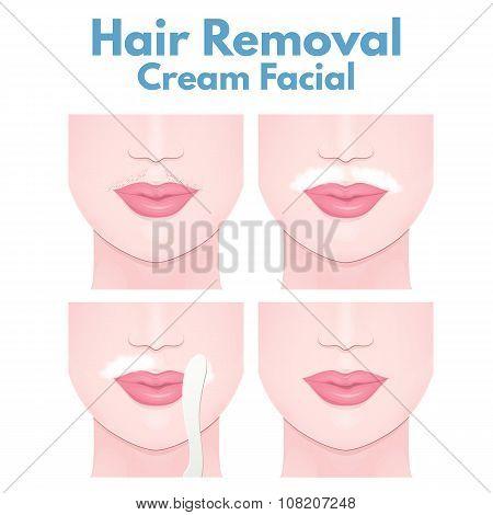 cream for depilation