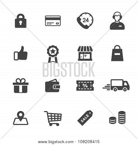 Shopping Solid Icons