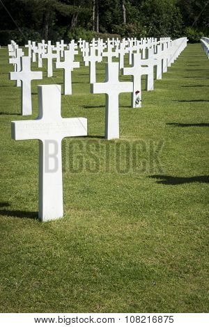 American Cemetary, Normandy, France