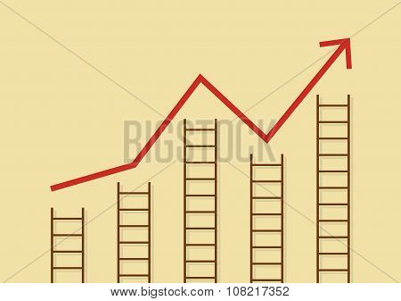 Growth Chart With Ladders