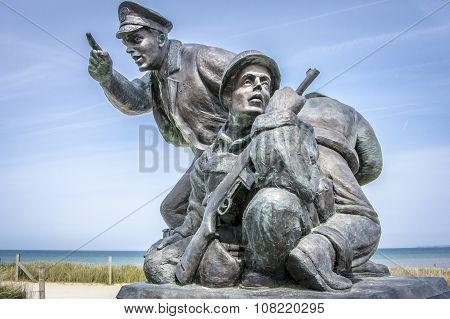 D-day Memorial, Utah Beach, Normandy, France