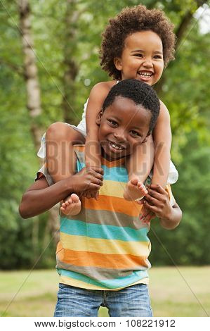 Sweet Little African Child